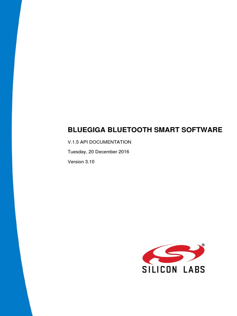 Bluetooth Smart Software BLE 1 5 API RM | Bluetooth