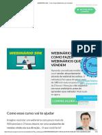 WEBINÁRIO 50K - Como Fazer Webinários Que Vendem!