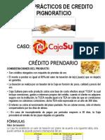 Credito Pignoraticio-casos Prácticos