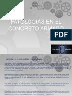 Ppv de Patologias de Concreto Armado