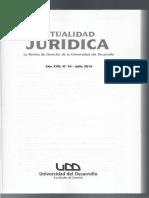 Aplicacion de La Pena Sustitutiva de Remision Condicional a La Accesoria de Suspension de Cargo u Oficio Publico Revista UDD 34