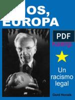 Adios Europa El Plan Kalergi