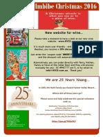 Newsletter Christmas 2016
