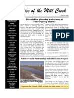 Summer 2005 Voice of the Mill Creek Newsletter, Mill Creek Watershed Council