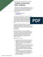 Sistema Nacional de Información Ambiental - SINIA - Ficha - CONAMA
