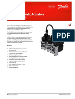 Electrohydraulic Actuators PVED Series 5 Data Sheet en-US