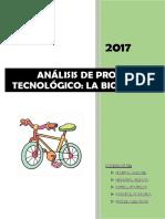 Analisis de Producto Tecnologico La Bici