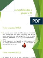 Incompatibilidad a Grupo y Rh - Copia