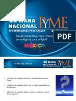 Cloud Computing Como Recurso Tecnologico Para La PyME