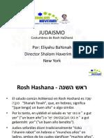 Judaismo Costumbres de Rosh Hashana