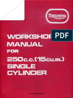 T25 1971 Workshop Manual 99-0945 x