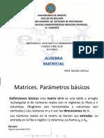 Matrices Cap Ix Octubre 2010