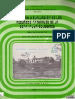 Inventario y evaluación de los recursos naturales de la zona Inuya - Bolognesi
