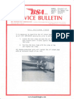 b50 b25 Service Bulletins 1971 to 1973xx