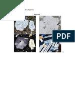 Mineralogía Microscópica de La Plagioclasa