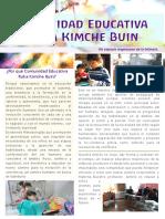 Boletín Comunidad  Ruka Kimche Buin