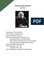 Biografia Albert Einstein