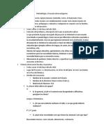 Metodologia y Proyecto de Investigacion