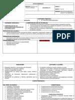 Planeacion Del Bloque UNO SEC. 28