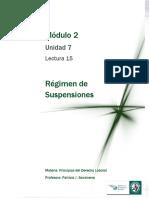 Lectura 15  - Régimen de suspensiones.pdf