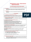 Recursos Administrativos Contra Gobernadores Departamentales