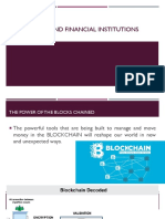 Blockchain and Financial Institutions