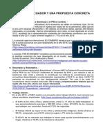 Pobreza en Ecuador y Una Propuesta Concreta - Marzo 6 de 2017