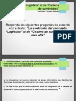 Presentación - SaberPro, Logistica