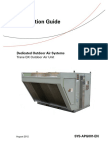 SYS-APG001-En 08-03-2012 Dedicated Outdoor Air Systems Trane DX Outdoor Air Unit