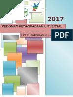Cover Kewaspadaan Universal