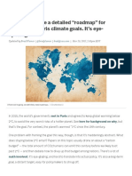 """Scientists Made a Detailed """"Roadmap"""" for Meeting the Paris Climate Goals. It's Eye-opening"""