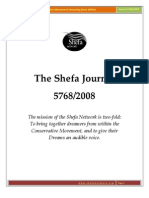 She Fa Journal 5768