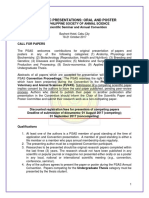 Guidelines for Oral and Poster Presentation 2017