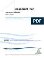 Risk Management Plan Template and Guide
