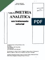 Geometria Analítica - Paulo Boulos
