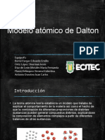 Modelo Atómico Daltonico
