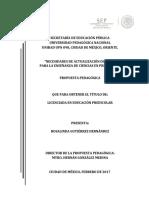 Ciencia en Preescolar _ TESIS UPN Rosalinda Gutierrez