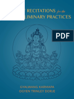 Kagyu Four Preliminary Practices
