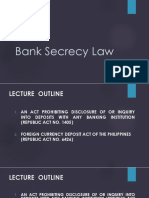 Bank Secrecy Law