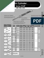 Datasheet Cylinder SMC