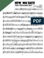 Morenadas 2017 Fuego Clarinet in Bb 1