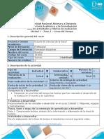 Guía de Actividades y Rubrica de Evaluación - Paso 1 - Línea de Tiempo Evolución Histórica de La Bioética en Colombia y en El Mundo