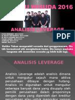 Tugas Mk 2013 Analisis Leverage