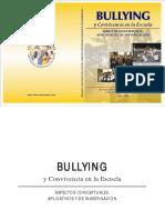 Libro Bullying y Convivencia en La Escuela, Aspectos Conceptuales, Aplicativos y de Investigacion (1)