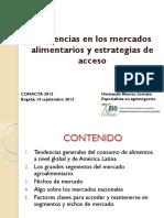 Presentación IICA 2012 Tendencias Mercados Alimentos
