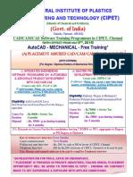 Cadcamcae Course Cipet Chennai_18!05!2016