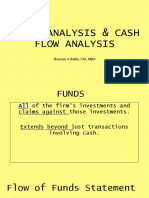 Fund Cash Flow Analysis and Financial Planning