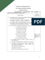 2do grado - Sesiones.doc