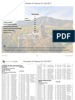 Fall2017class Schedule