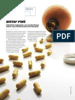 Bloomberg - Bitter Pills; Antioxidant Supplements Jan2007